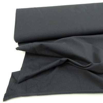 tejido de punto gris oscuro liso