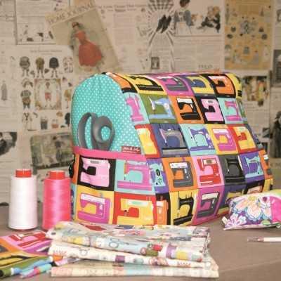 funda máquina de coser DIY