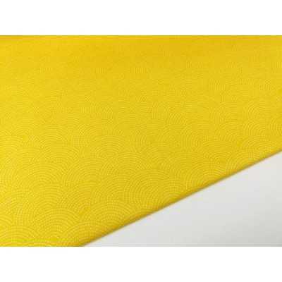 tela amarilla sashiko