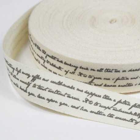 cinta de letras