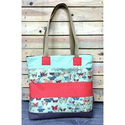Cremallera Tutorial Tote Bolso Bag Con Iqr10wqa