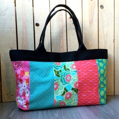 Patron bolso japan patchwork