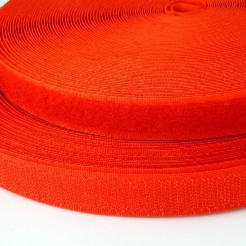 Velcro de coser naranja