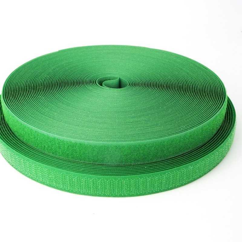 Velcro de coser verde
