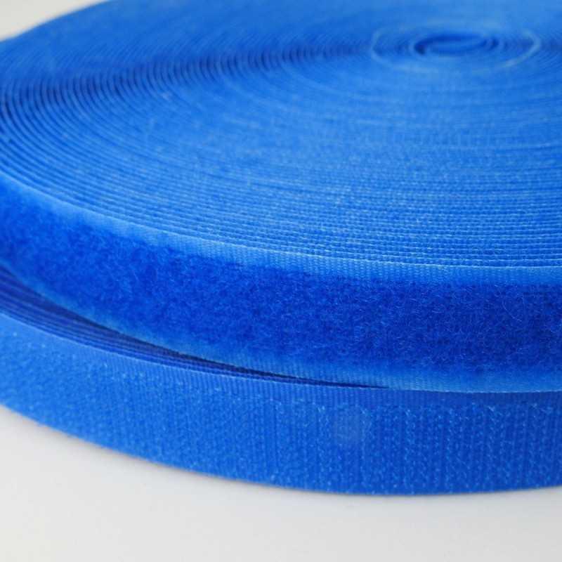 Velcro de coser azul