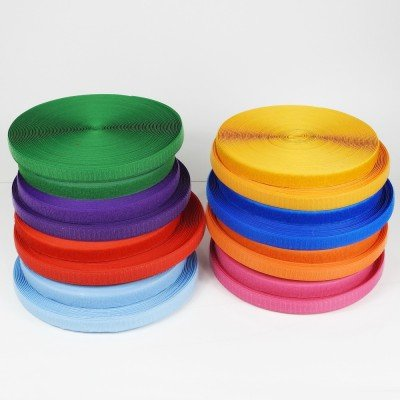 Velcro de coser de colores