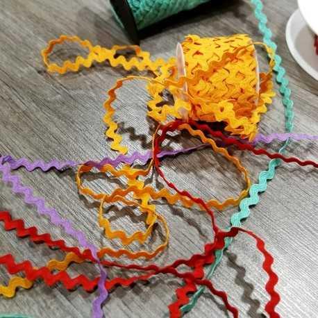Cinta ondulina de colores