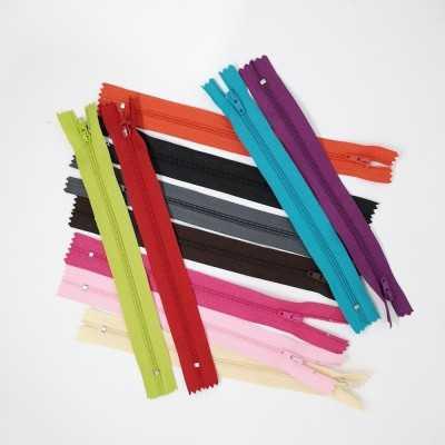 Cremallera de colores de 20 cm