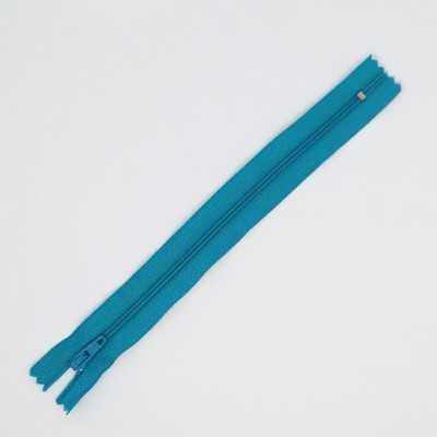 Cremallera azul de 20 cm