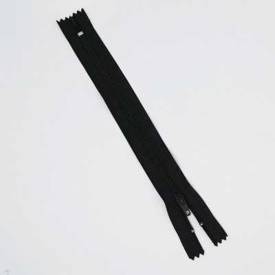 Cremallera negra de 30 cm