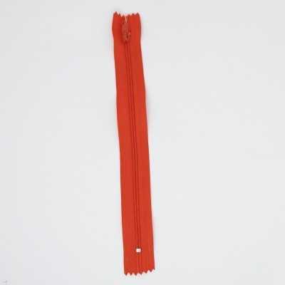 Cremallera naranja de 20 cm