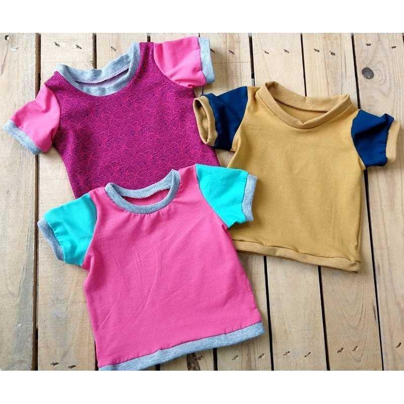 Camisetas Bebé DIY con el kit de Jan et Jul