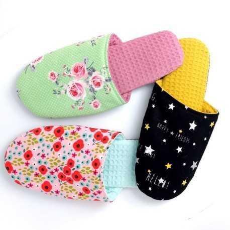 Patrón para zapatillas de verano DIY