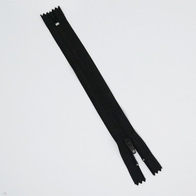 Cremallera negra de 30cm