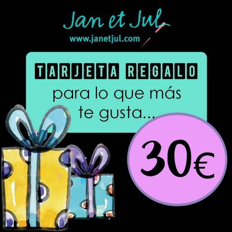 tarjeta regalo Jan et Jul 30€