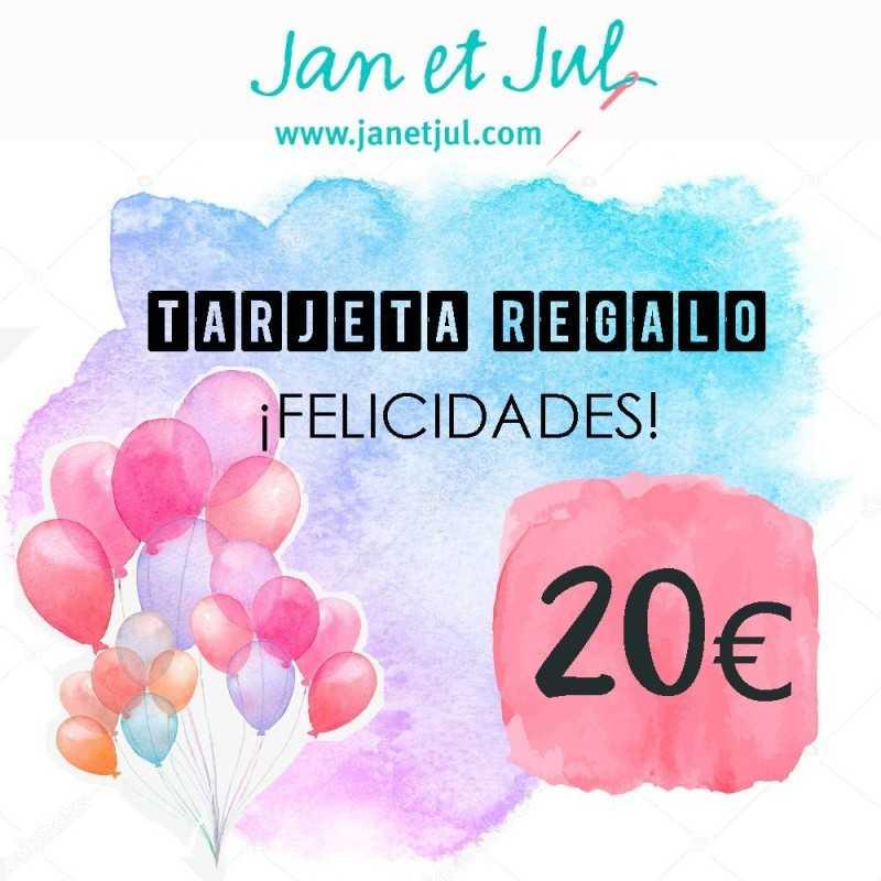Tarjeta Felicidades 20 euros