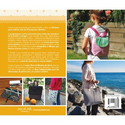 Contraportada del libro Costura Creativa 2 de Jan et Jul
