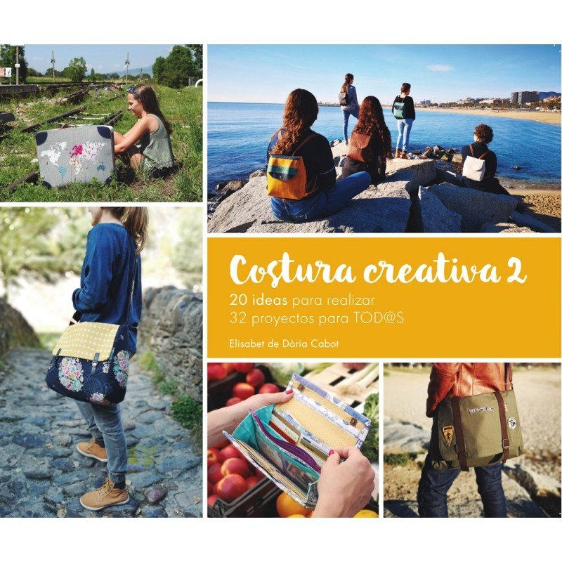Libro Costura Creativa 2 de Jan et Jul
