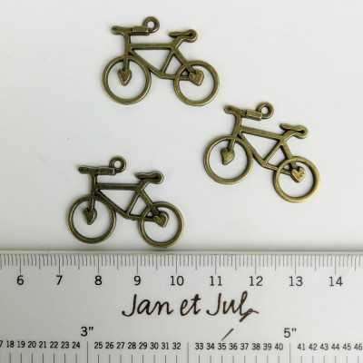 Charm Bicicleta de metal