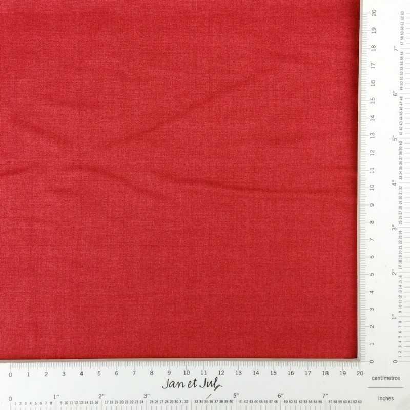 tela lisa roja