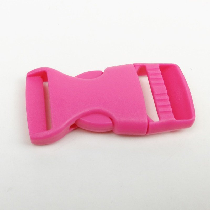 cierre plástico fucsia de 20mm
