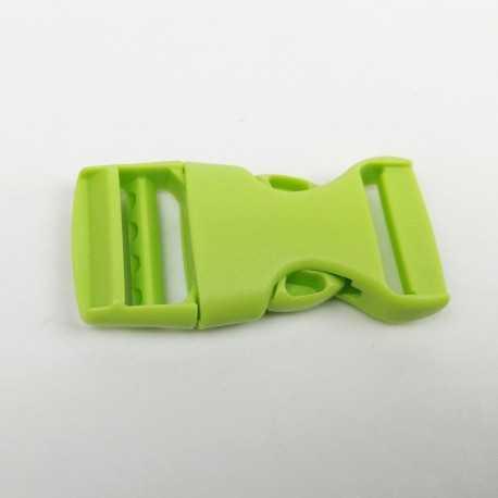 cierre plástico verde de 20mm