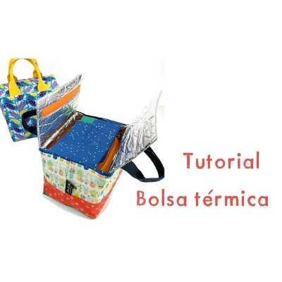 tutorial bolsa térmica portátil