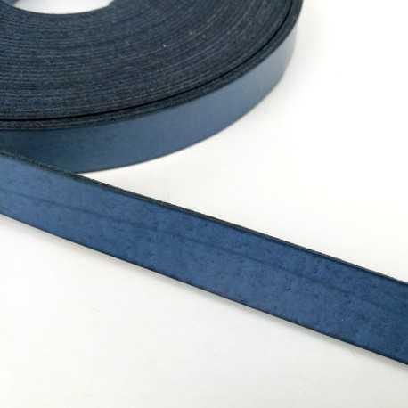 Asa piel sintética 15mm color azul