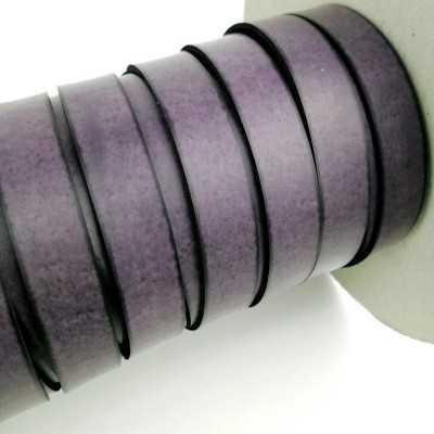 Asa piel sintética 15mm color morado