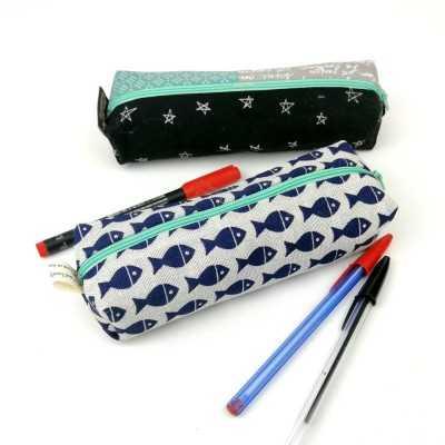 Instrucciones para realizar un estuche para lápices