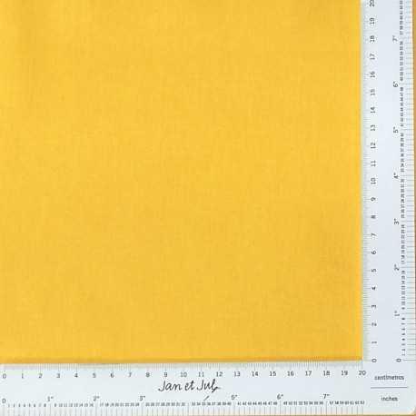 tela lisa de patchwork color amarillo