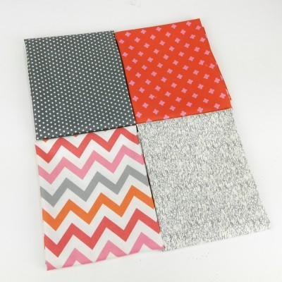 Pack 4 fat quarter