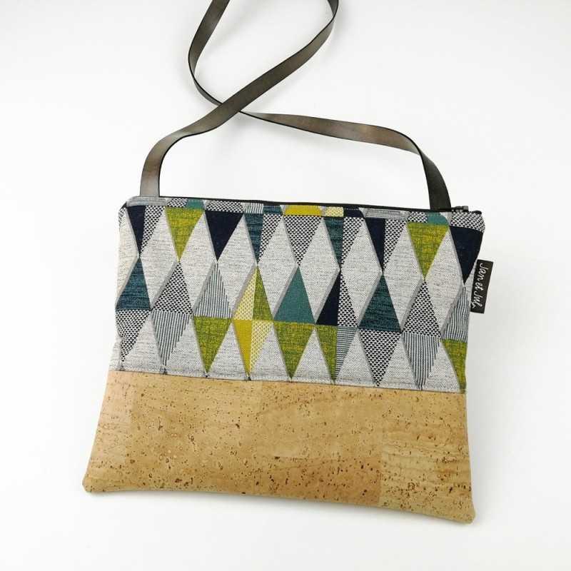 kit para coser un bolso con corcho DIY