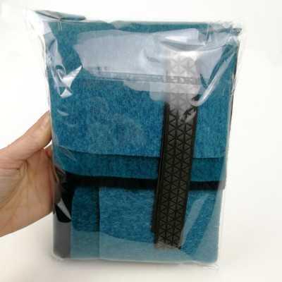 Funda para tablet con tela de lana