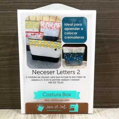 Costura Box Neceser Letters 2