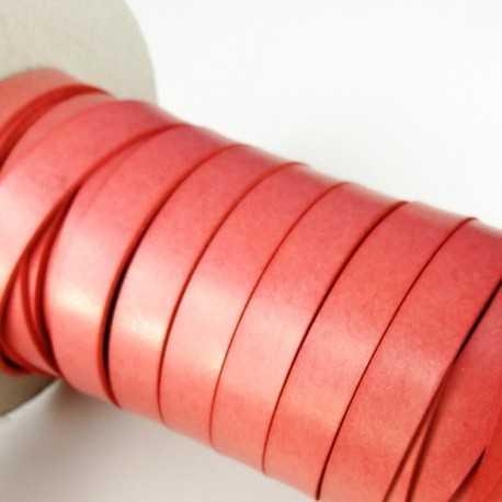 Asa piel sintética 15mm color coral