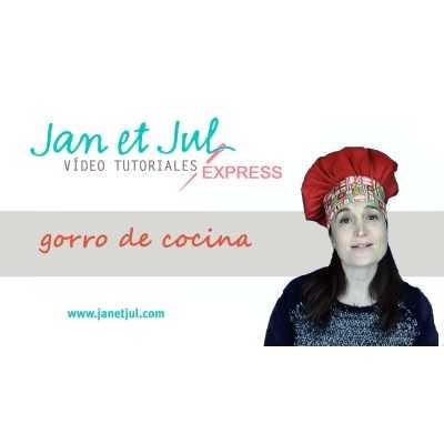 tutorial como coser un gorro de cocina con telas gratis