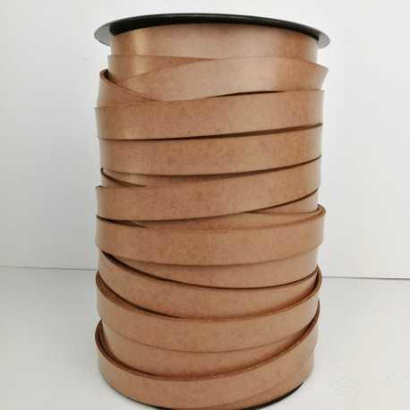 Asa piel sintética 15mm color camel avellana