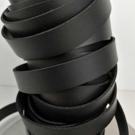 Asa piel sintética 15mm color negro