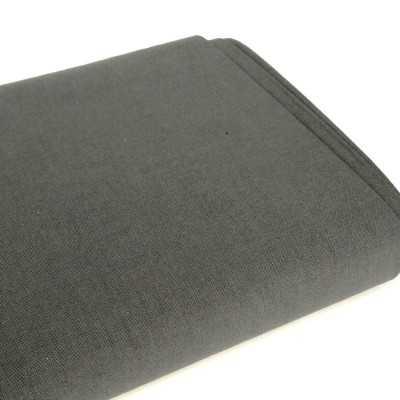tela lisa gris oscuro