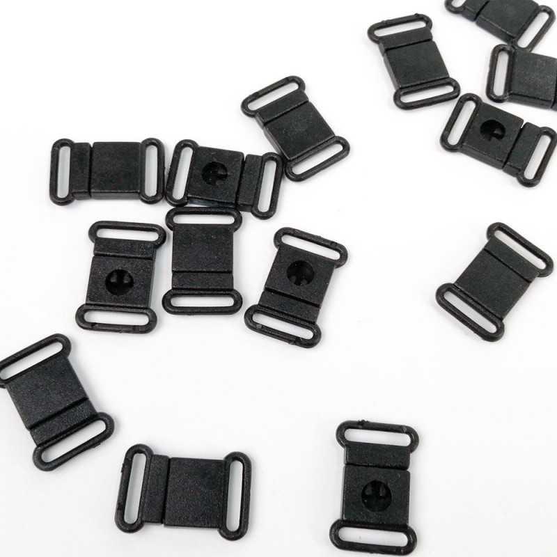cierre de plástico para cintas de 12mm