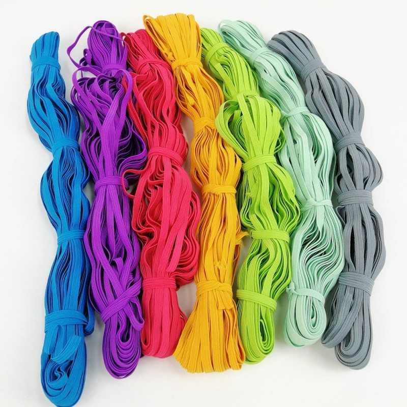 goma elástica de 6mm en colores