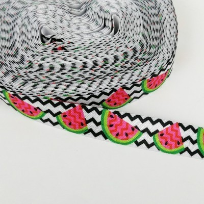 goma elastica con sandías