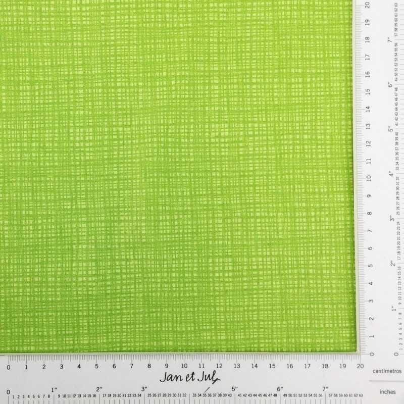 Tela verde con rayas tipo textura