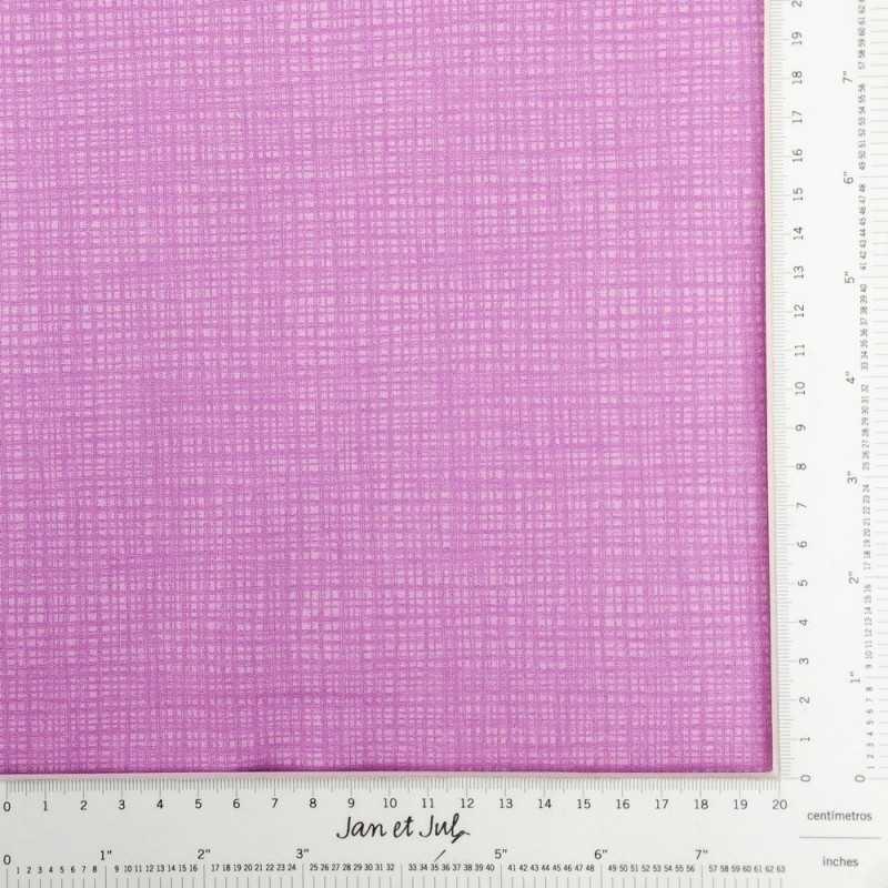 Tela violeta con textura rayada
