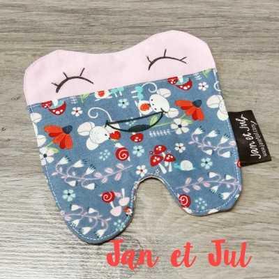 Patrón gratis para coser una bolsa para guardar los dientes