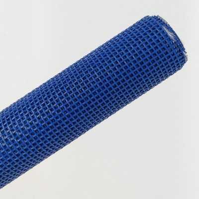 tela de rejilla azul