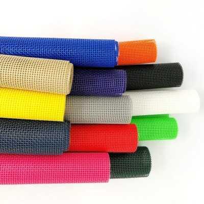 Tela de rejilla plastica de colores