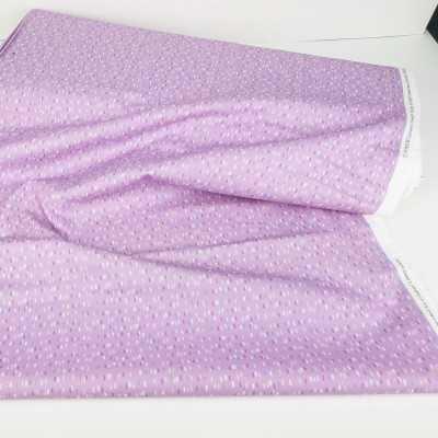 Tela algodón 100% en color lila