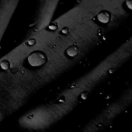 Tejido hidrófugo para mascarillas color negro